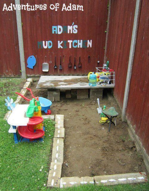 10 Fun Outdoor Mud Kitchens For Kids Garden Ideas Garten