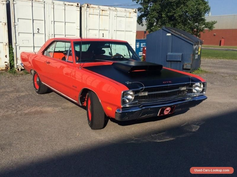 1969 Dodge Dart Gts #dodge #dart #forsale #canada | Cars for Sale ...