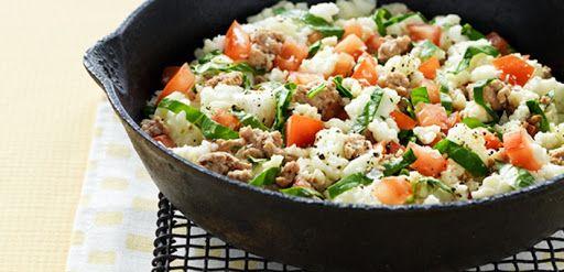 Egg White & Turkey Scramble | Recipe | Clean eating ...