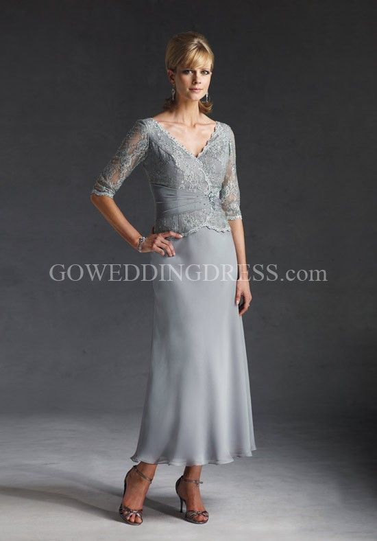 2016 Absorbing Best Sleeves V Neck Mother Of The Bride Groom Dress In Canada Prices