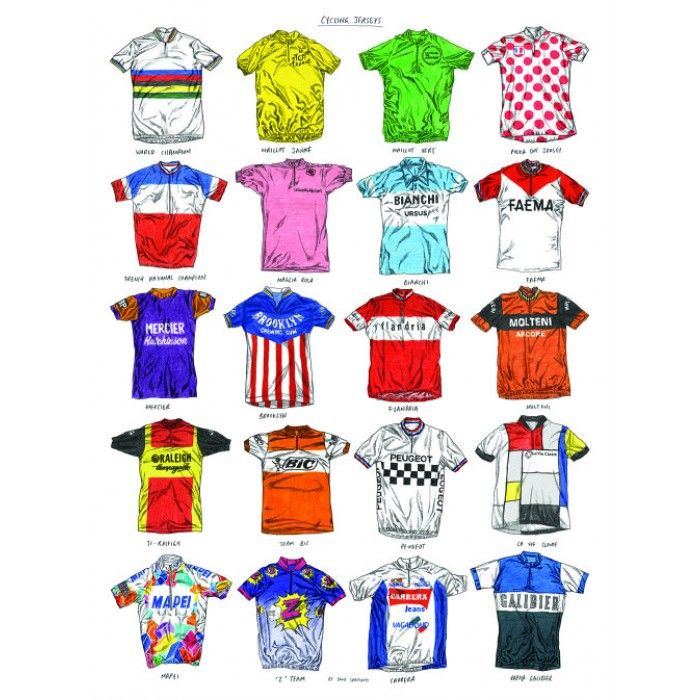The Art of the Jersey A celebration of the cycling racing jersey