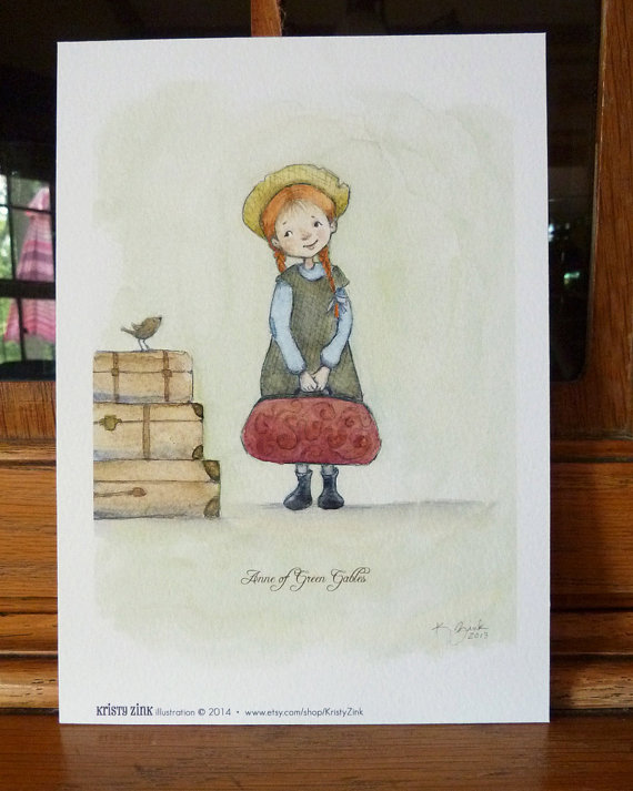 Anne Of Green Gables Wall Art Now Available In Larger Sizes