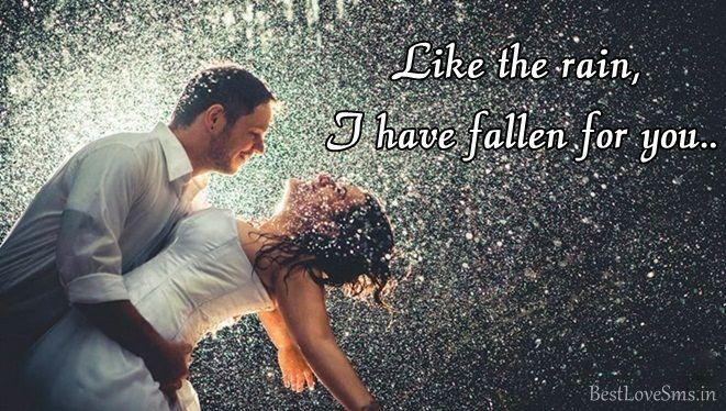 Romantic Rain Love Status, Happy Rainy Day Barish Quotes