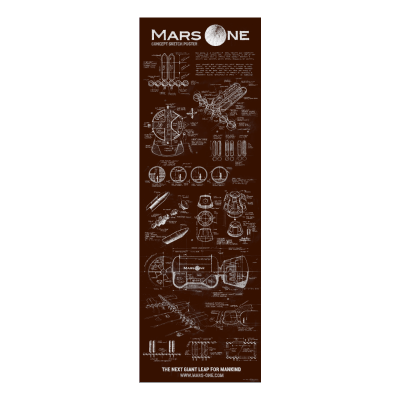 Mars One Concept Sketch Poster