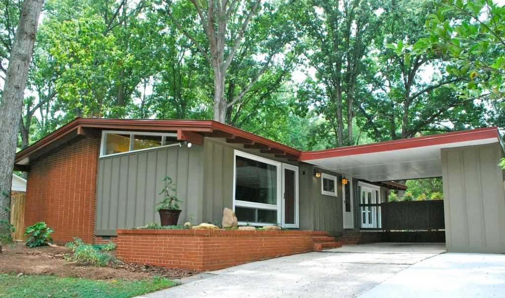 Mid century house mid century modern all it needs