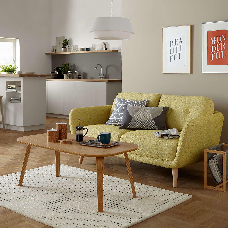 House by John Lewis Arlo Medium 10 Seater Sofa, Light Leg, Riley