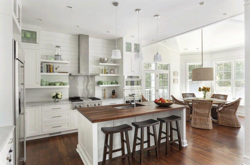34 Luxurious Kitchens With Island Sinks Kitchen Island With Sink Kitchen Cabinets Decor Luxury Kitchen Design