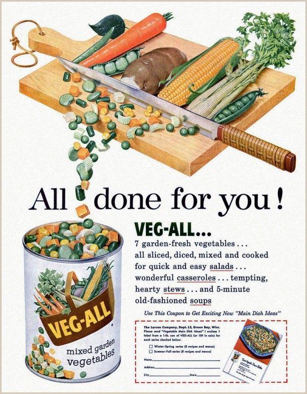 Image result for vintage advertisements food