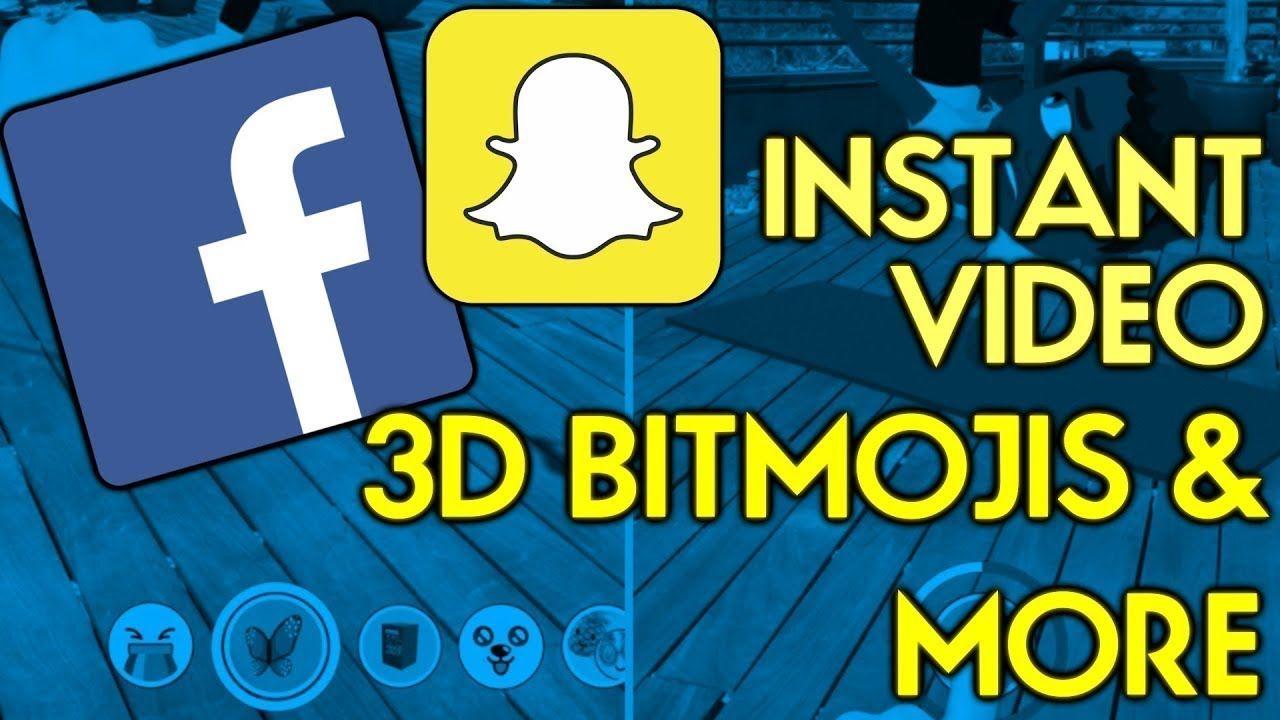 Snapchat's Bitmoji avatars are now threedimensional and