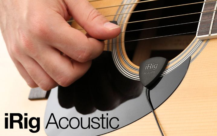 Irig Acoustic Acoustic Guitar Microphone Interface For Iphone Ipod Touch Ipad Android Devices And Mac Pc Guitar Acoustic Guitar Irig