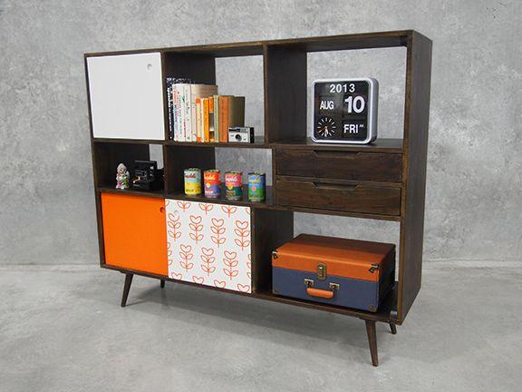 Bookcase and Storage Display Unit - American Walnut