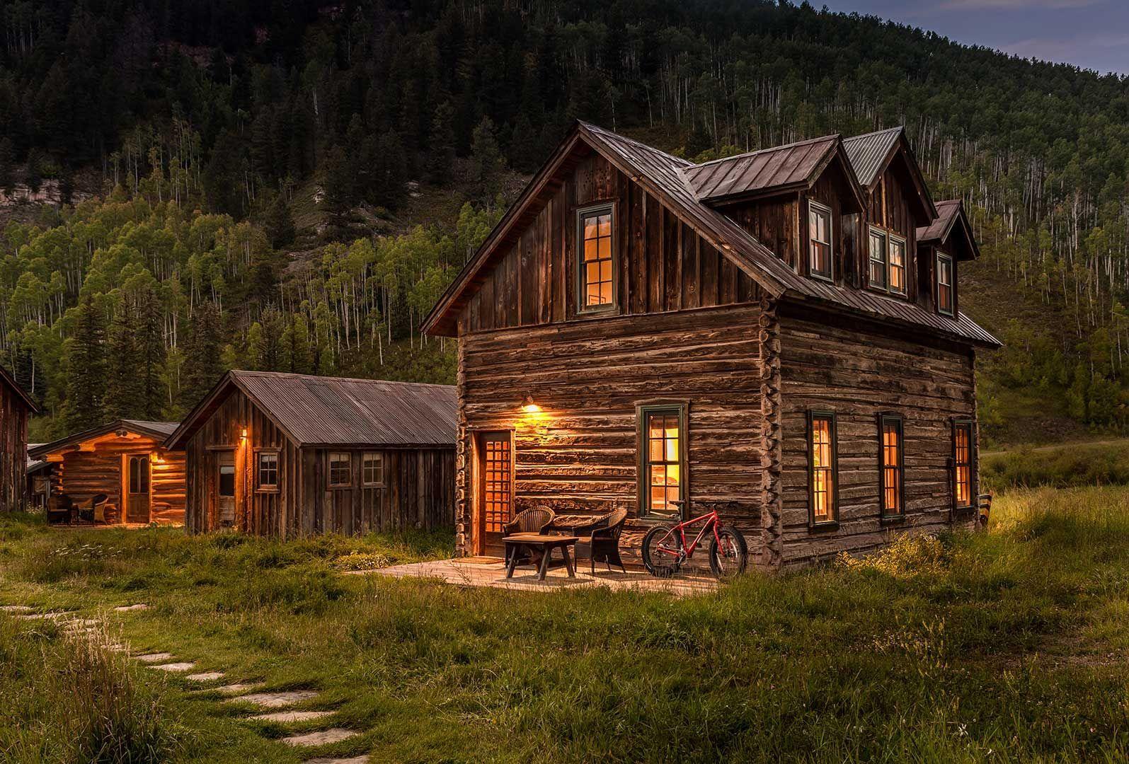 Tipping Log Cabin Cabins, cottages, Log homes, Cabin homes