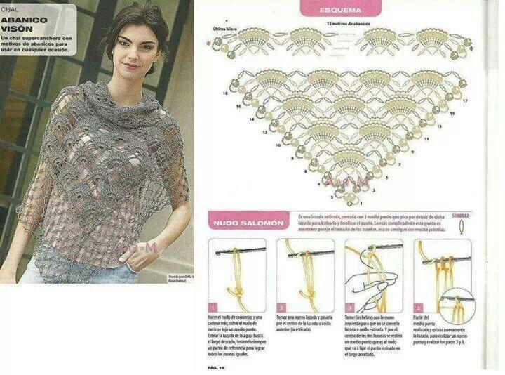 Pin de Nadja Porcell en Patrones crochet para vestrir | Pinterest ...