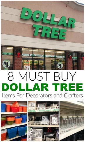 The Best Items to Buy at The Dollar Store for Decorators #dollarstores