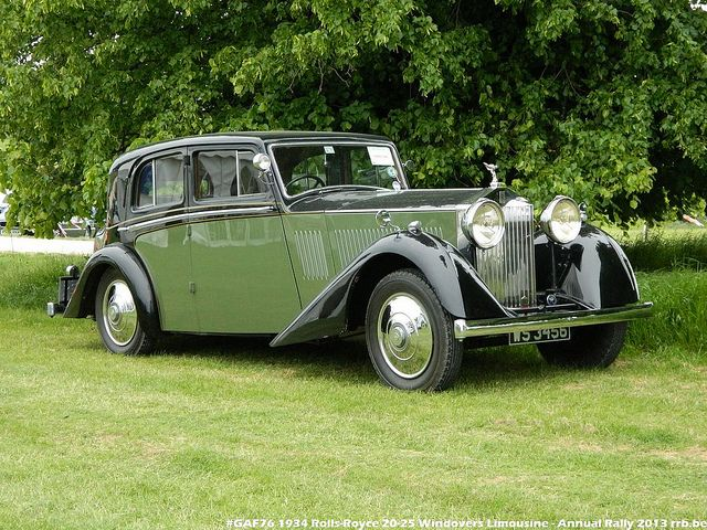 Gaf76 1934 Rolls Royce 20 25 Windovers Limousine Classic Cars Rolls Royce Rolls Royce Cars