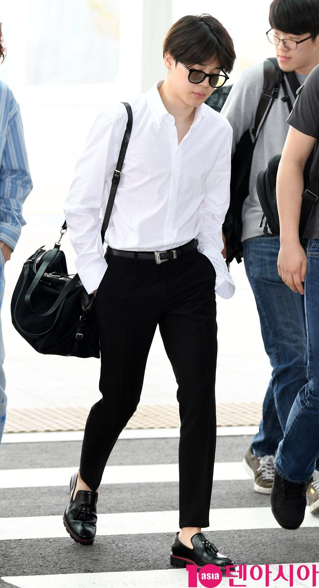BTS Jimin (May 14th, 2018) Incheon Airport fashion (With images) | Jimin ...