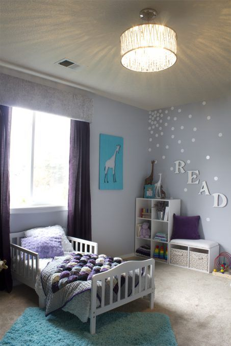 A Toddler Chic Bedroom makeover filled with many DIY decor ideas in a Montessori-inspired environment perfect for a little girl.