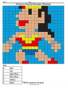Wonder Woman Subtraction Girl Superhero Coloring Page This Website Is Amazing