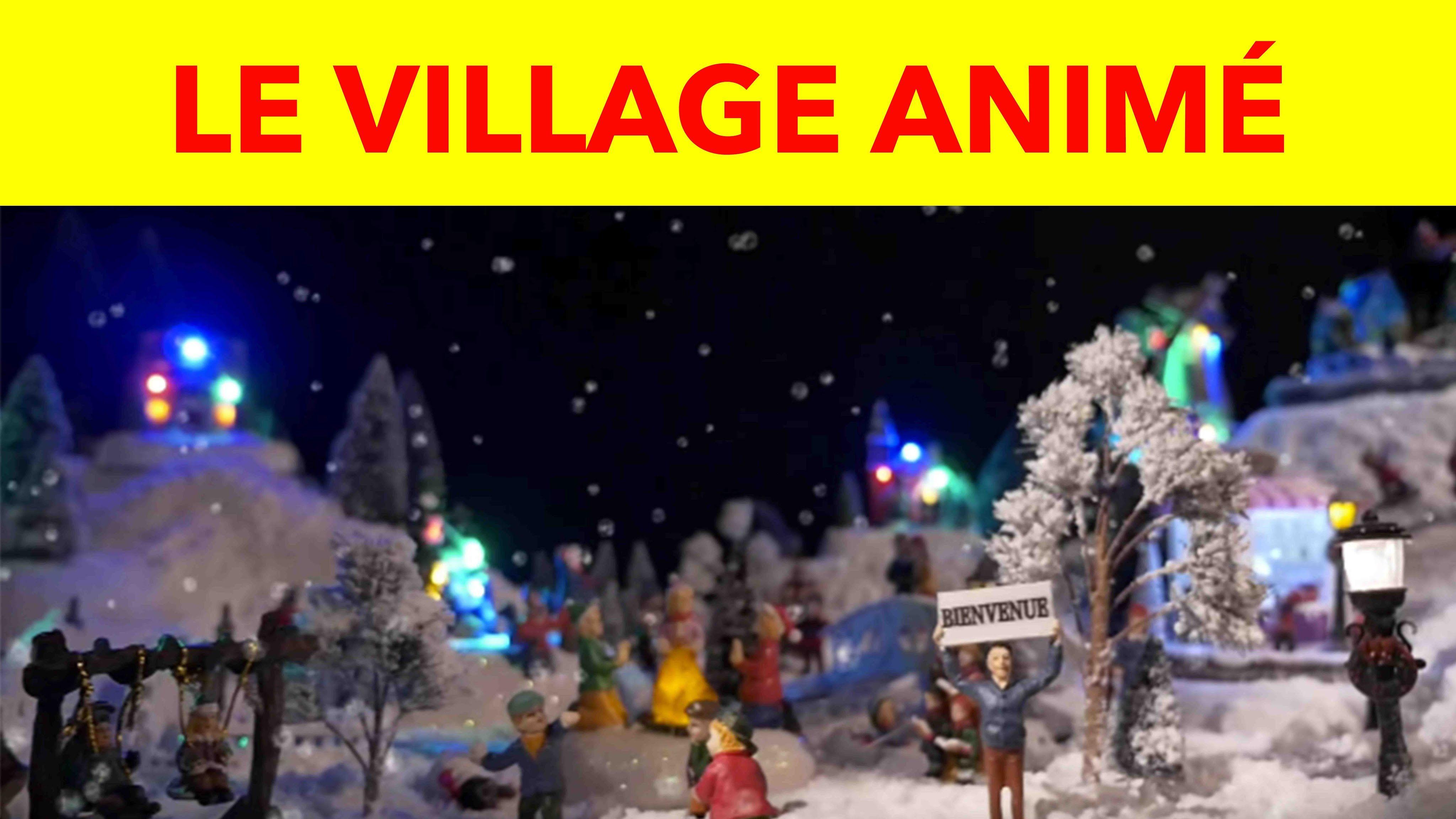 Comment Construire Son Village De Noël Animé Cadeau Malin Gifi