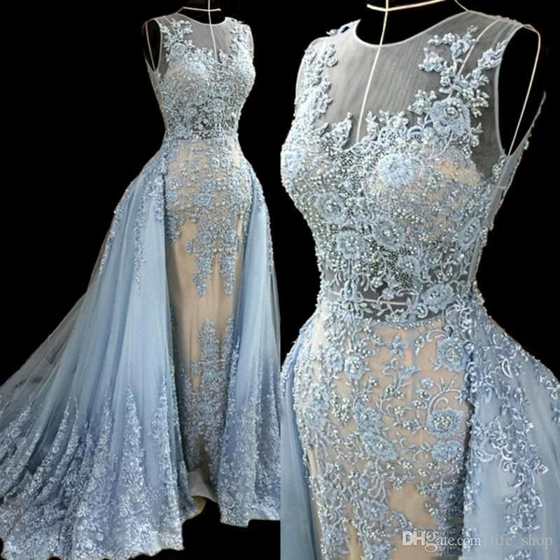 Cheap 2015 New Hot Mermaid Evening Dresses Delicate Crystal Sequins ...