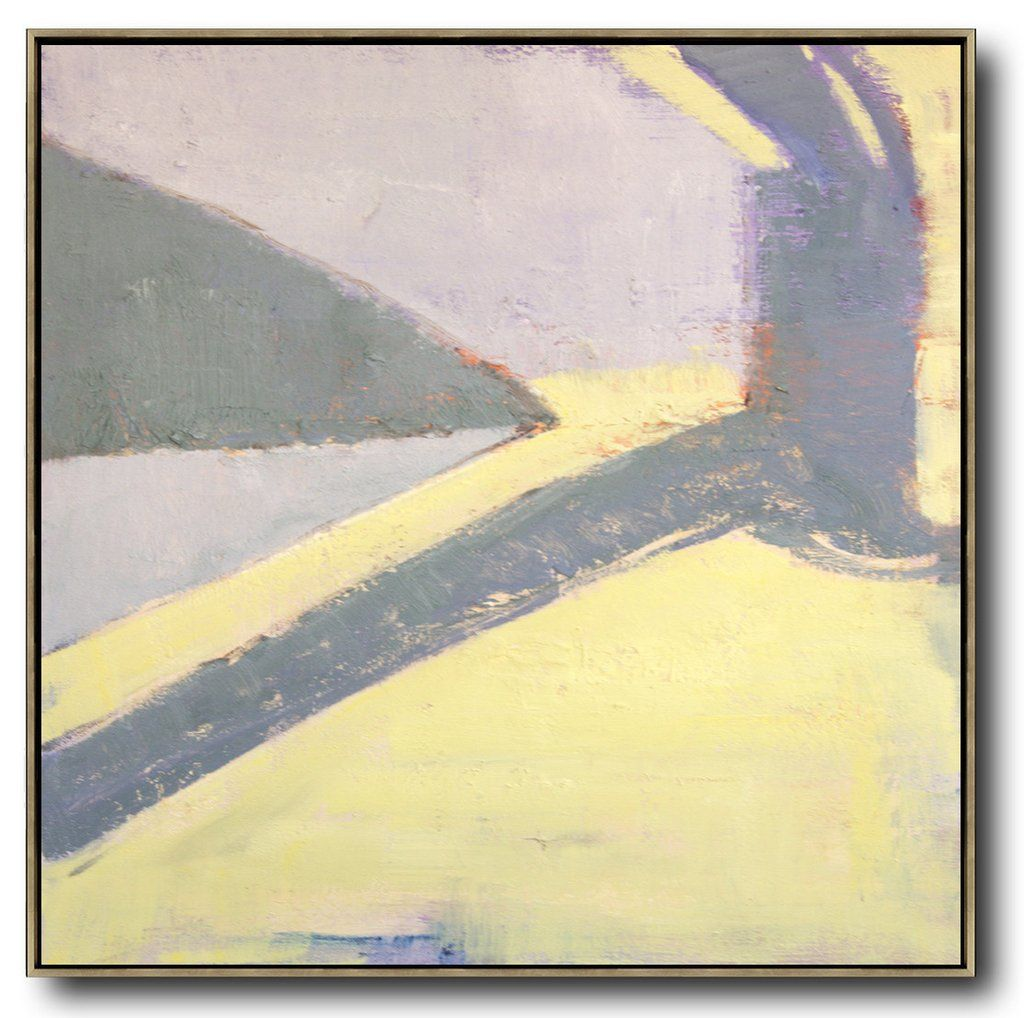 Contemporary Art #SK5A | Color Block & Color field Paintings ...