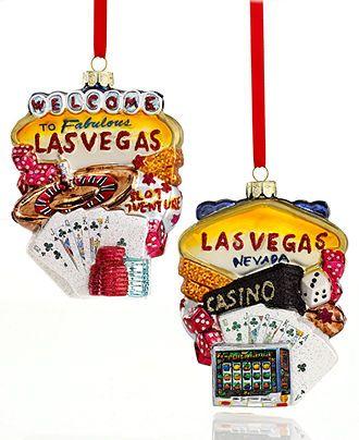 Kurt Adler Christmas Ornament, Las Vegas - Holiday Lane - Macy's