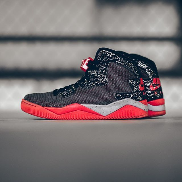 Nike Air Jordan Spizike Forty Pe Black Fired Red Cement Grey Air Jordans Sneakers Jordan Spike
