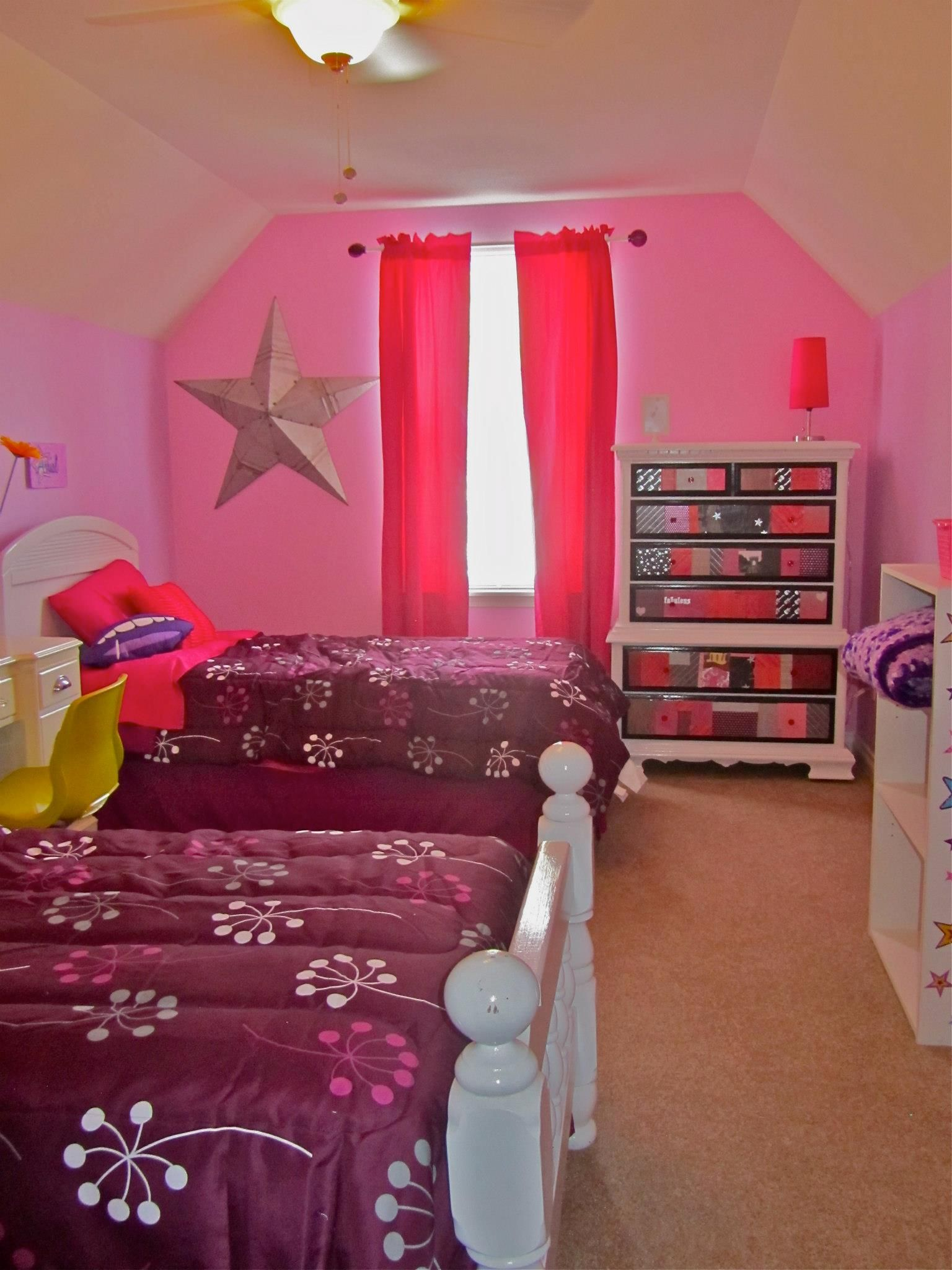 Pink And Purple Room For S