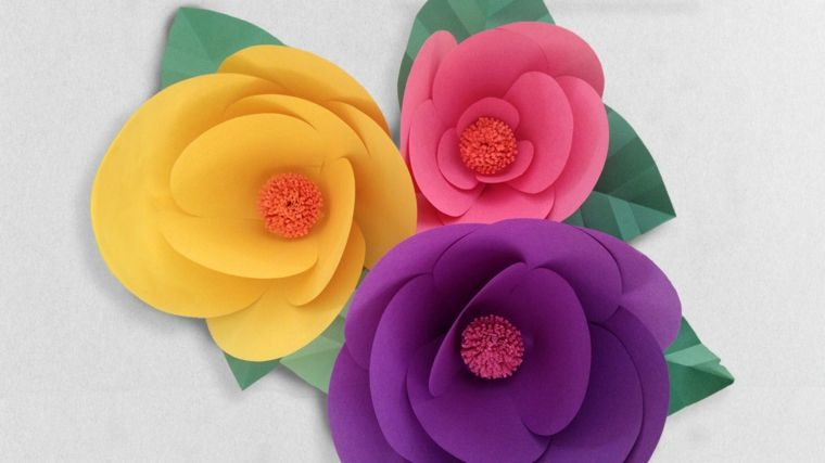 Como Hacer Flores De Papel Ideas Practicas Para Decorar Ideas