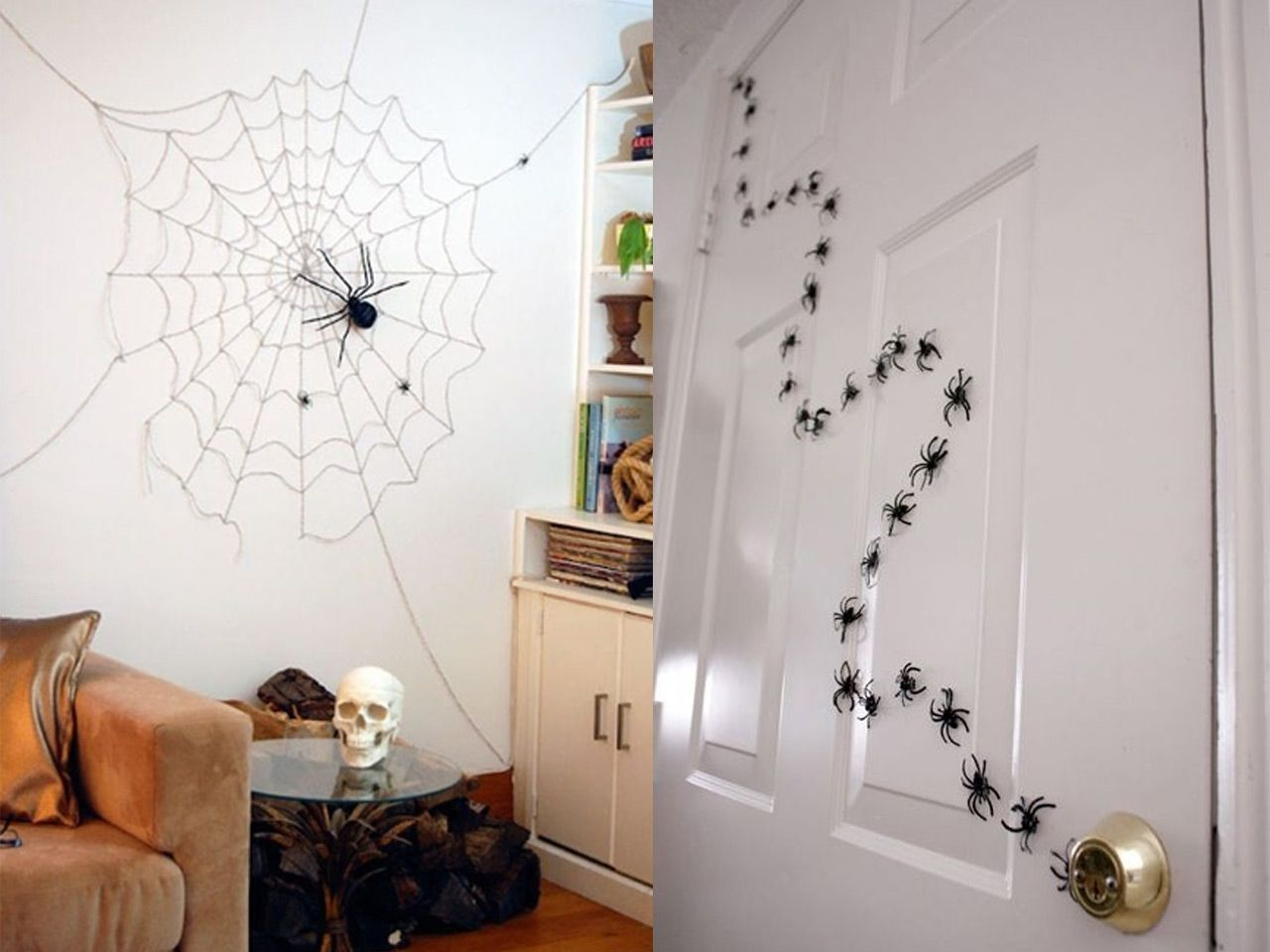 Ideas econmicas para decorar tu casa en Halloween Imaginas