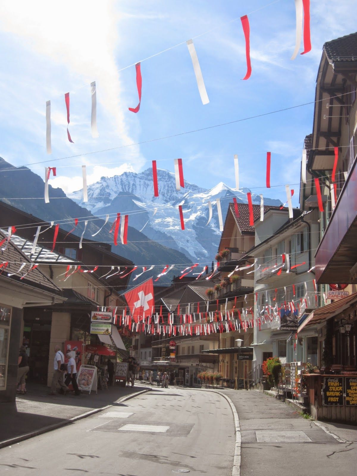 I'm an Outlaw, Not a Hero: Wengen, the halfway point of the Jungfrau Marathon, Switzerland