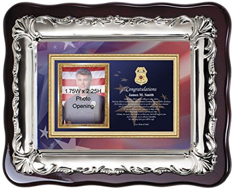 Personalized sheriff police graduation picture frame and police personalized sheriff police graduation picture frame and police academy photo frame police school officer photo jeuxipadfo Choice Image