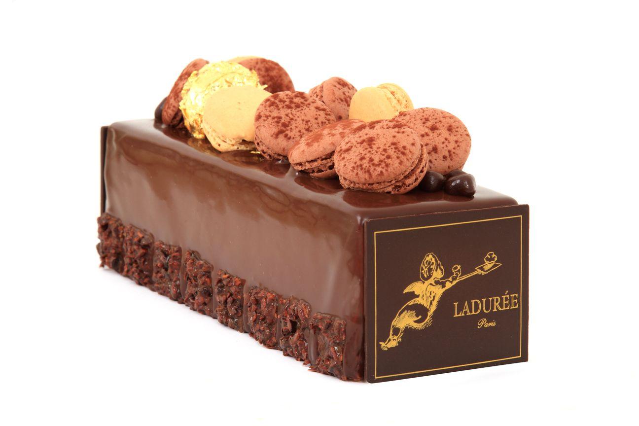 Carrément Chocolat Caramel Ladurée Chocolate Candy Cake