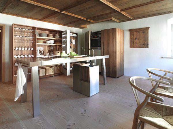 Cuisine grise  nos plus beaux modèles Interiors