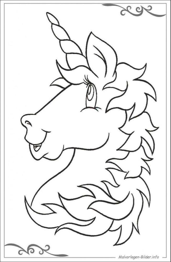 malvorlagen einhörner kostenlos ausdrucken  unicorn