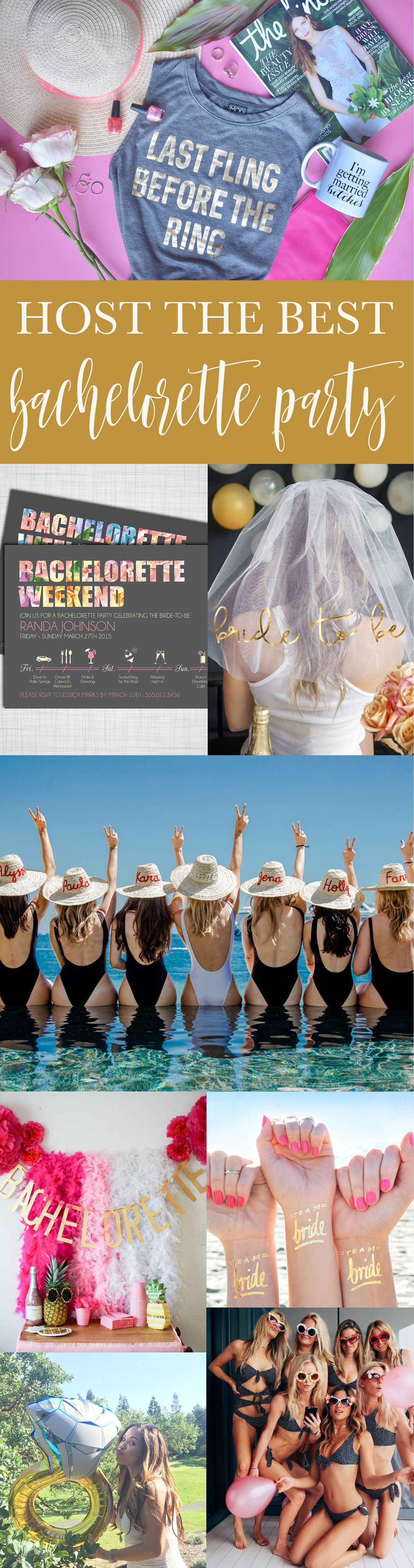 7 Tips for Throwing the Best Bachelorette Party | Pinterest ...