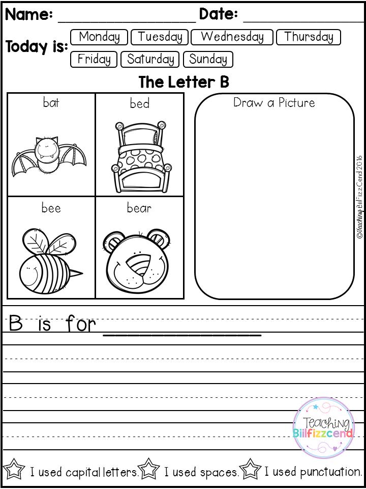 Alphabet Writing Prompts | Pinterest | Kind
