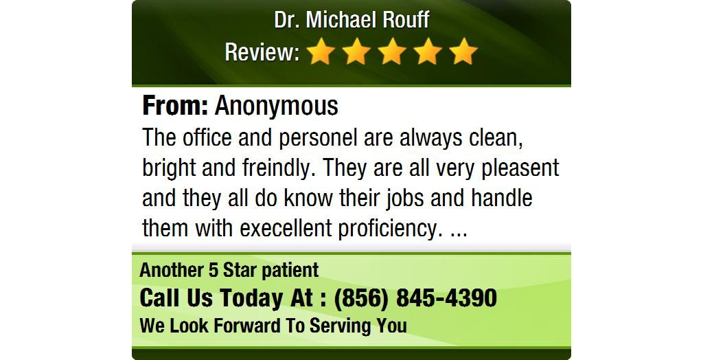 The office and personel are always clean, bright and freindly. They are all very pleasent...