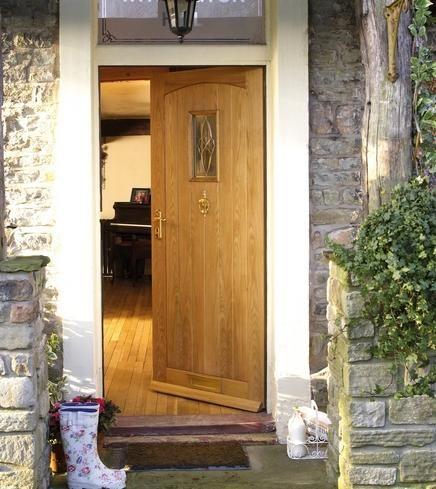 Cottage Oak Mt Triple Glazed External Hardwood Doors Doors