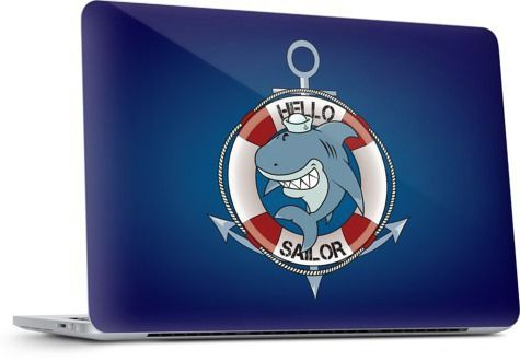 Hello sailor by Mangulica - Laptop Skins - $30.00