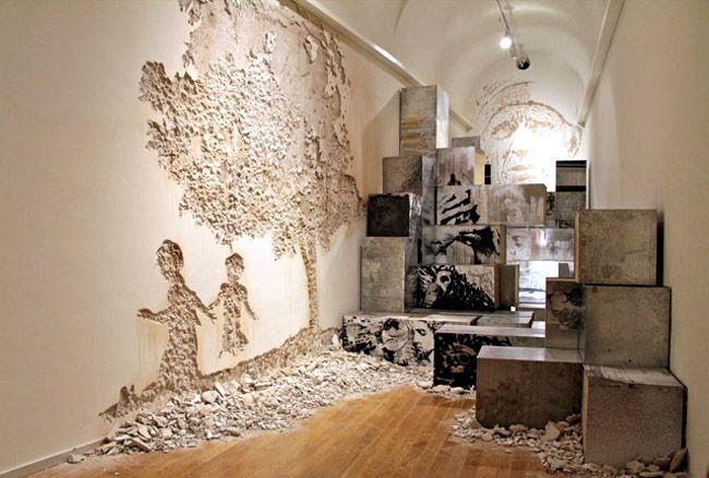 Alexandre Farto at the Museum of Contemporary Arts of Elvas & Museum in Ruins-Art Exhibition | Art 1 | Museum of contemporary art ...