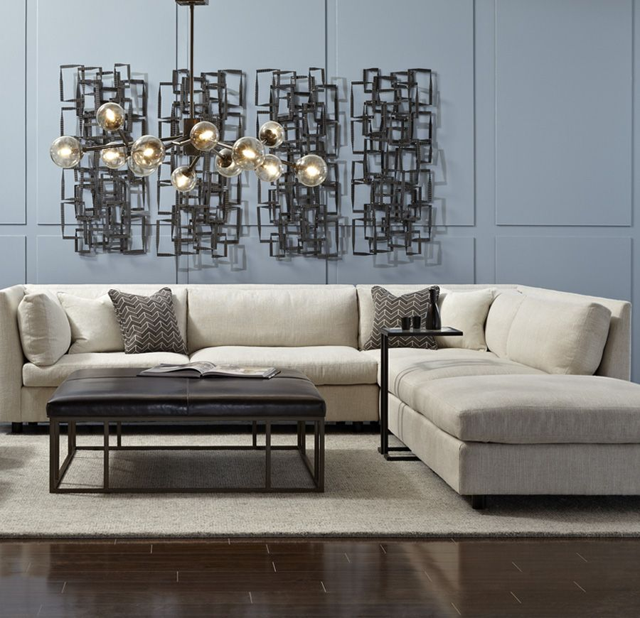 Living Room Furniture Configurations: Mitchell Gold + Bob Williams Msg