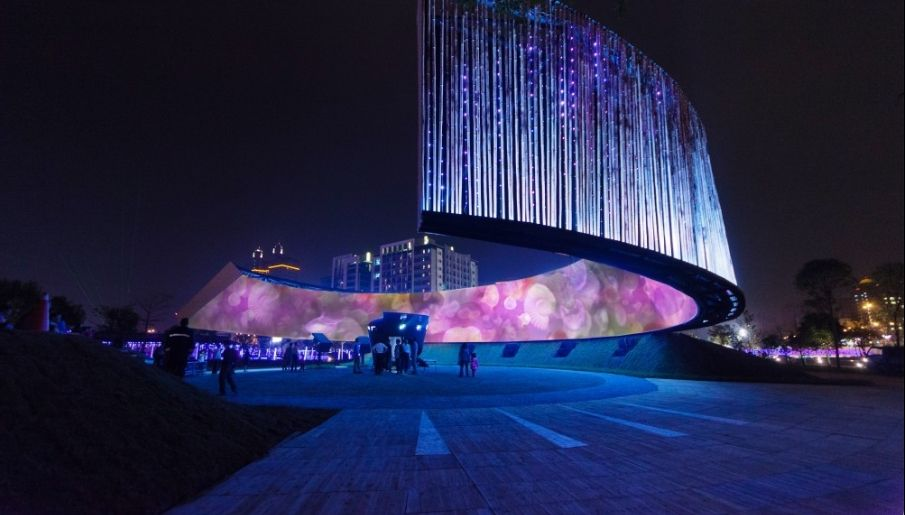 Ring of Celestial Bliss by the firm J.J.Pan & Partners, one of the winners of Architizer A+