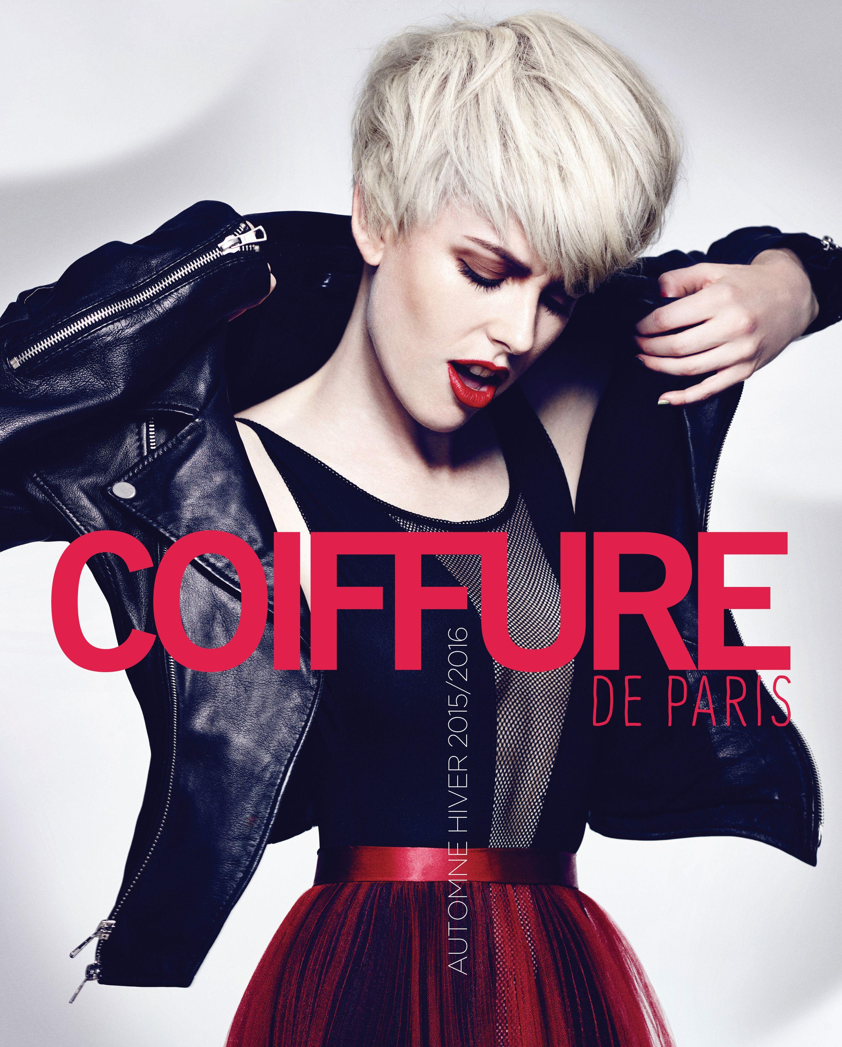 Album Coiffure de Paris Printemps-été 2016. Couverture : H ...