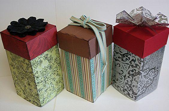 Caixinha Para Natal Caixa De Leite Cajas Moldes Diy Gift Box