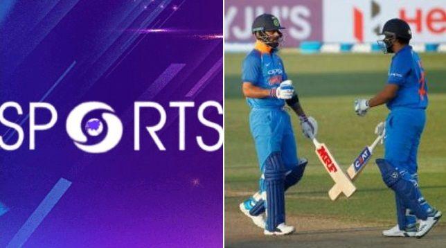 DD Sports Live Cricket India vs New Zealand Match Today