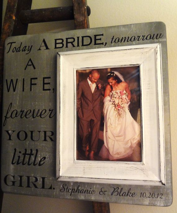 Wedding Frame 13 X 13 Parents Of The Bride Custom By