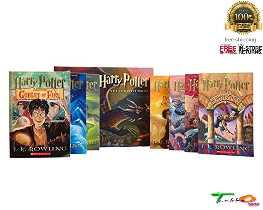 Harry potter book legend boxed set books 17 paperback