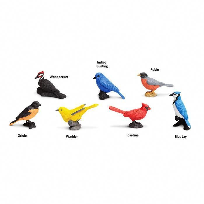 Backyard Birds TOOB® Mini Toys #backyardbirds