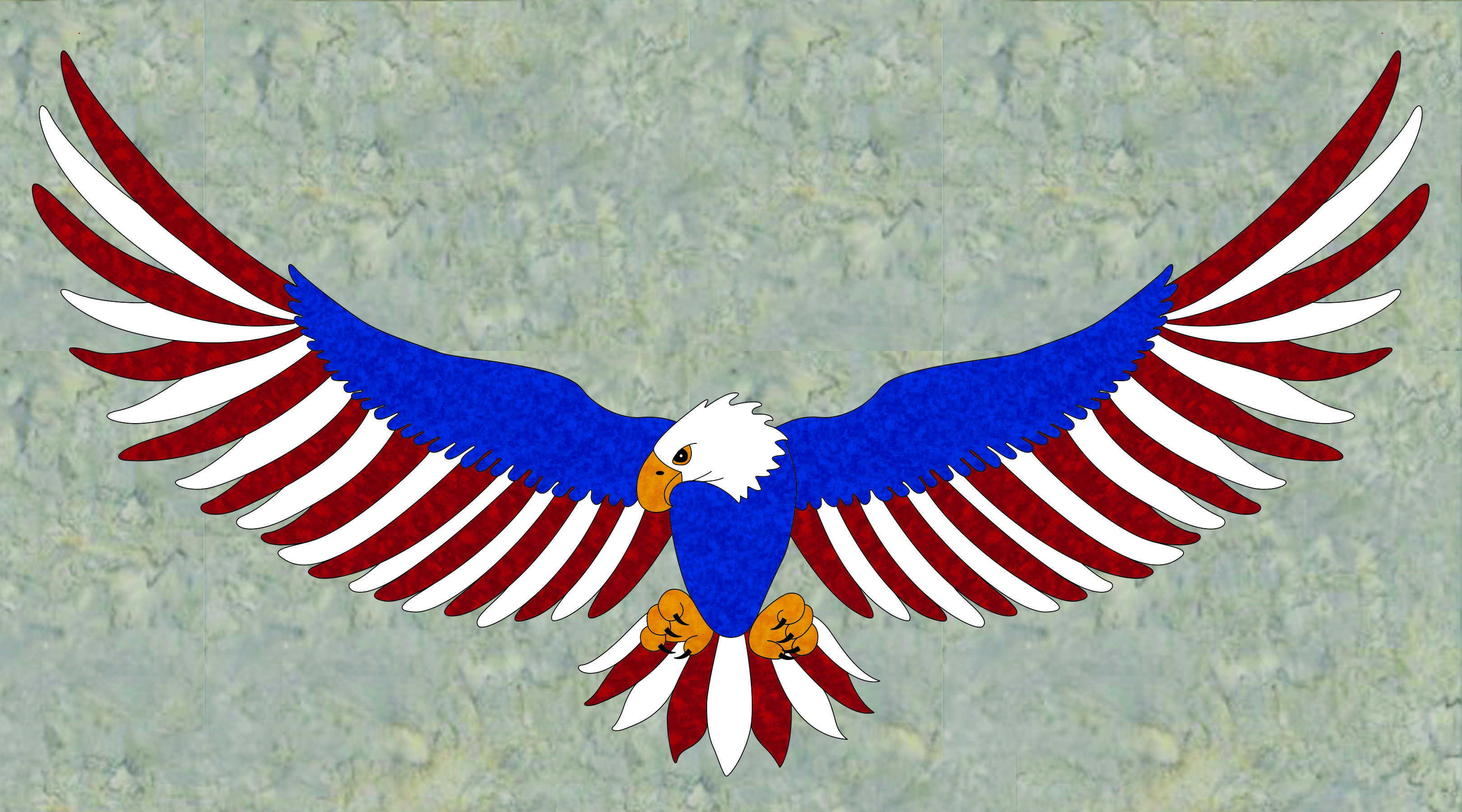 Free Pattern Freedom Eagle Aqs Blog Quilt Of Valor Eagle Quilt Freedom Quilt